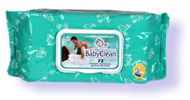 Baby Clean 72 pc with cap
