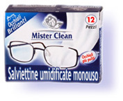 Mr Clean 12 pc for spectacles cleaning